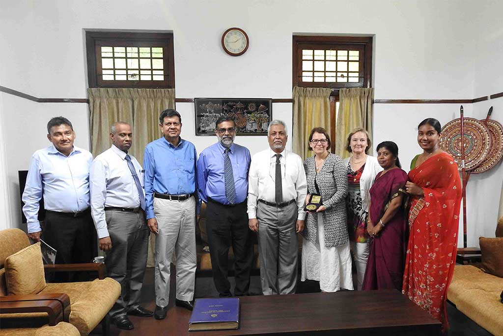Metropolia University of Applied Sciences, Finland visited University of Colombo