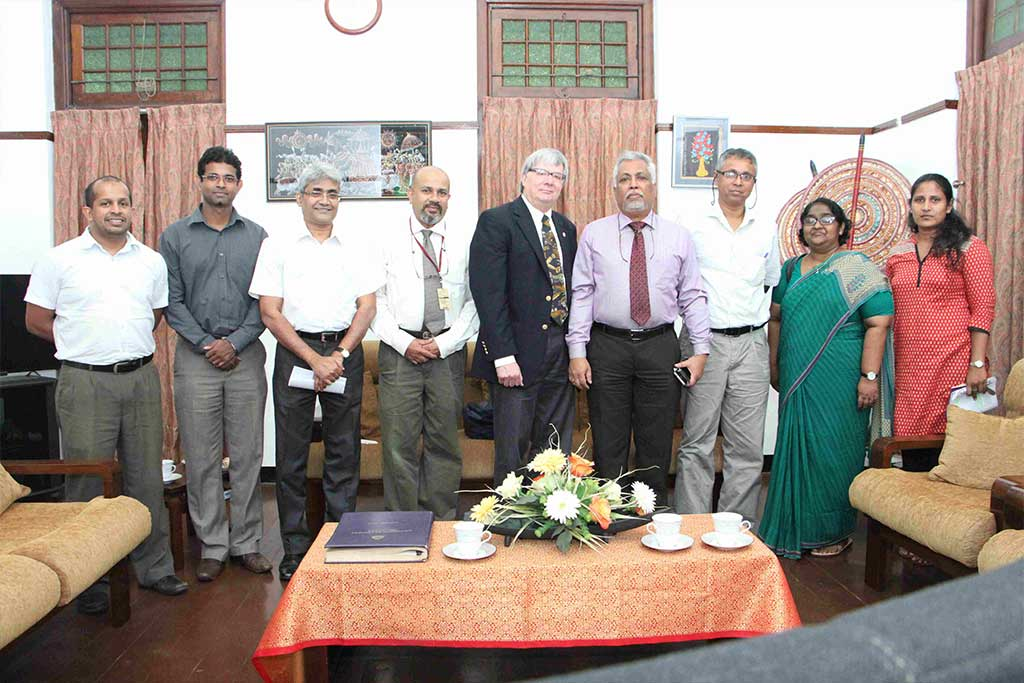 Michigan Technological University, USA, to collaborate with University of Colombo