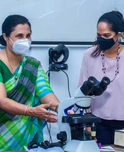 Microscopes donation by CUFSAA to the Department of Zoology and Environment Sciences