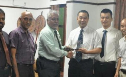 MoU between Department of Geography, University of Colombo and the Island Research Center, State Oceanic Administration, P.R. China
