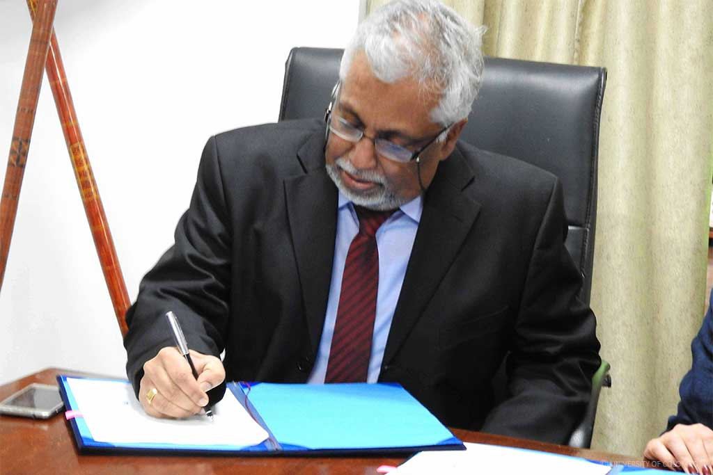 University of Colombo signed a MoU with Metropolia University of Applied Sciences, Finland