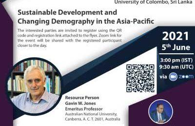 Multi-Disciplinary Research Seminar – Department of Demography
