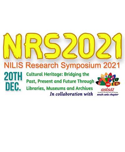 NILIS Research Symposium (NRS) 2021