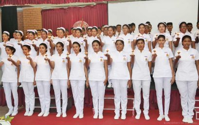 The 'Oath taking Ceremony' of the Faculty of Nursing