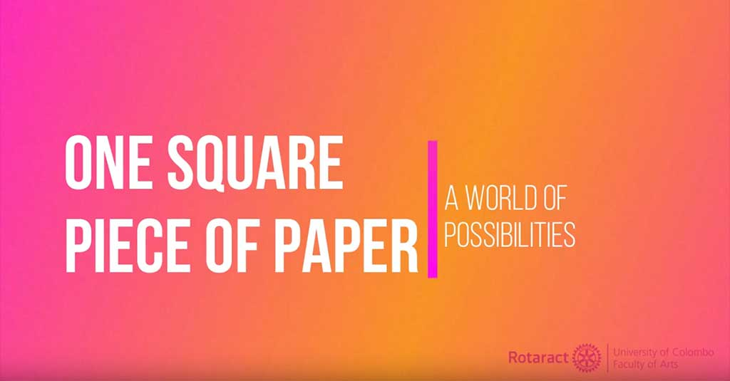 One Square Piece of Paper- Endless Possibilities