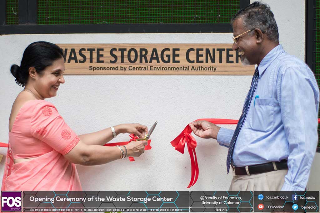 Opening Ceremony of the Waste Storage Center