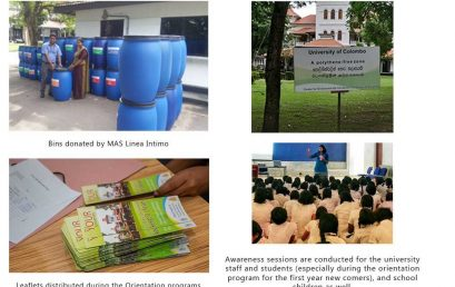 University of Colombo's path towards a sustainable, carbon neutral green university