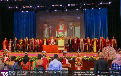 Postgraduate Convocation 2018