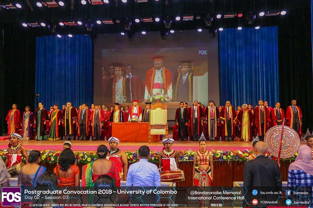 Postgraduate Convocation 2018