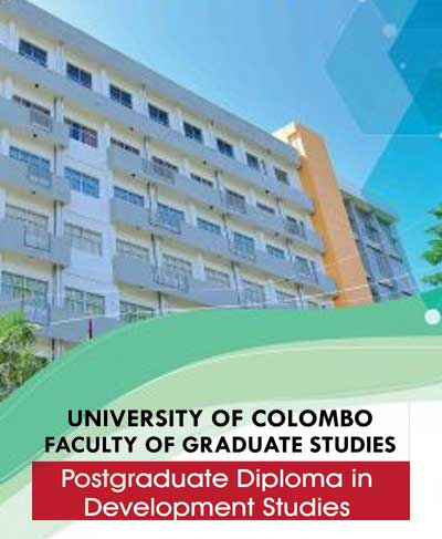 Postgraduate Diploma in Development Studies (PgDDS) 2020/21