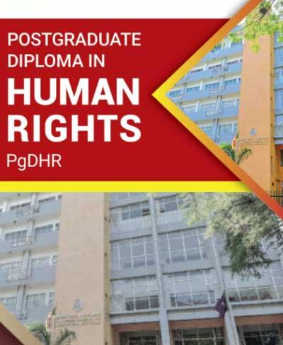 Postgraduate Diploma in Human Rights – PgDHR 2021/22