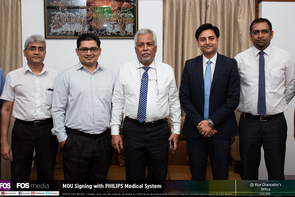 MoU between UoC and Philips Medical System
