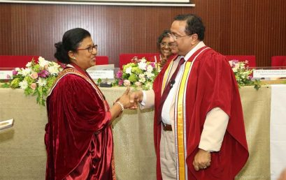 Prof. Preethi Udagama inducted as the 78th General President of the SLAAS