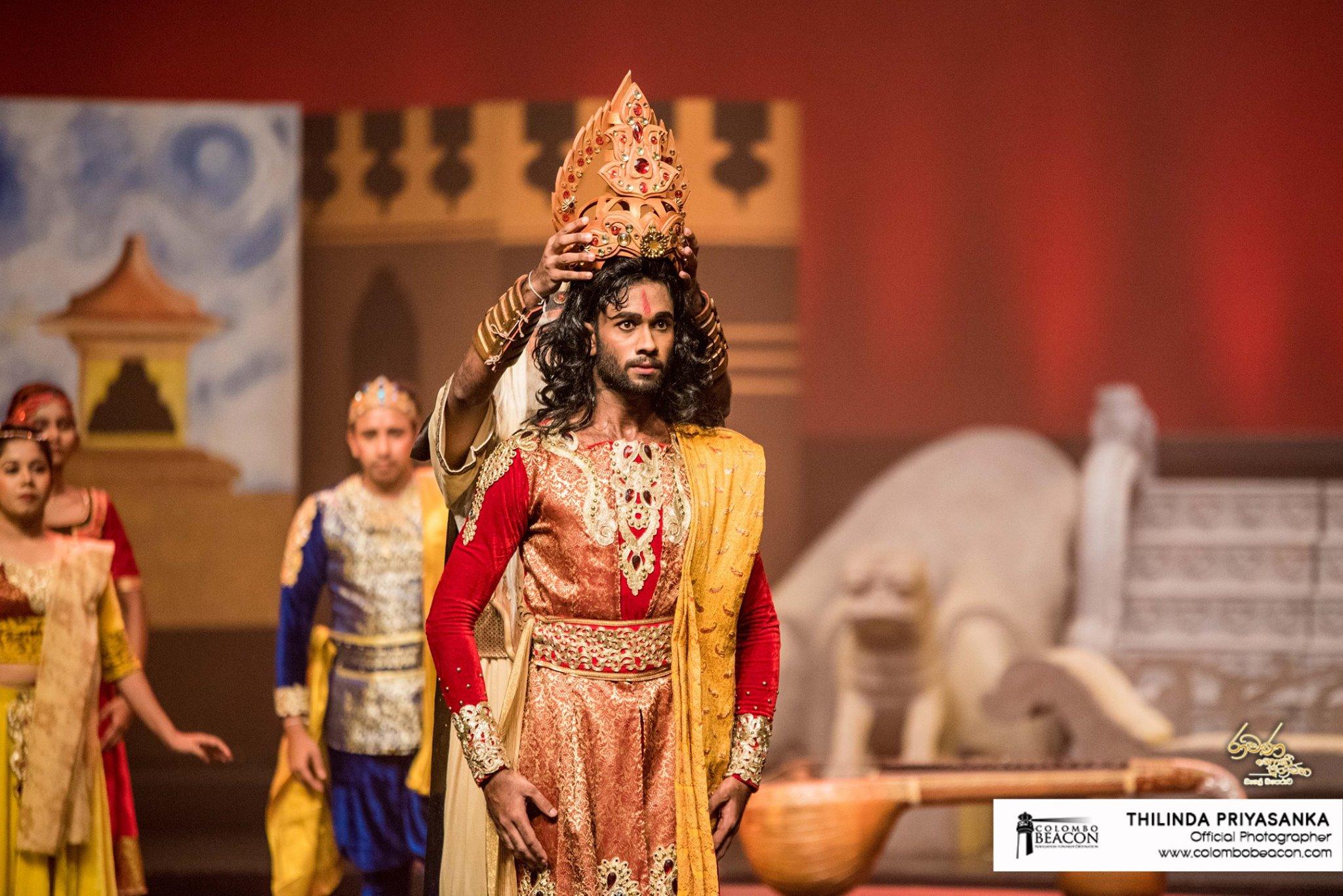 "The First public show ""Ravana: The Legend Untold"""