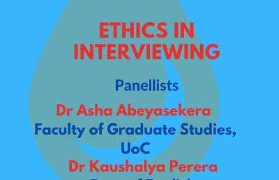 Research Ethics in Surveys,  Faculty of Arts  – Postgraduate Seminar 5