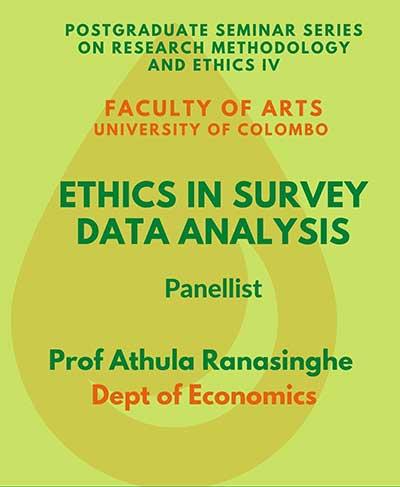 Research Ethics in Surveys – Postgraduate Seminar 4