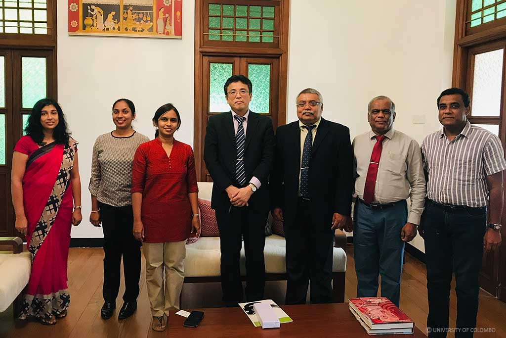 University of Colombo and Saitama University, Japan strengthen the ties