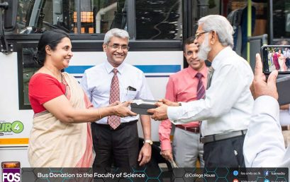 Faculty of Science Receives a Bus Donation