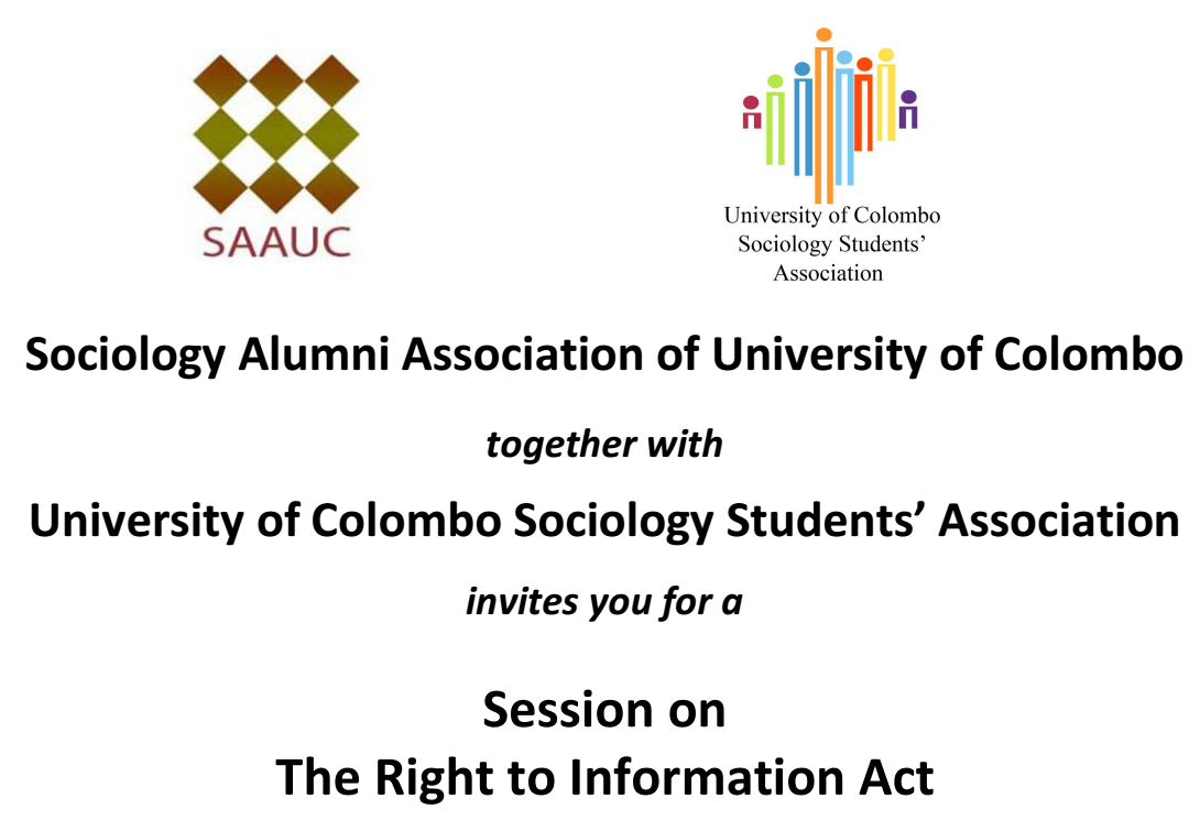 Session on 'The Right To Information Act'