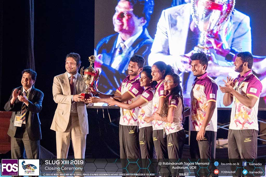 Closing Ceremony of the Sri Lanka University Games XIII 2019