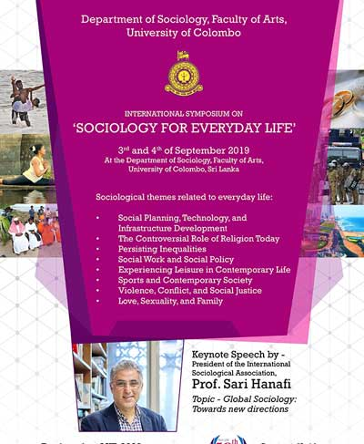 International Symposium on 'Sociology for Everyday life'