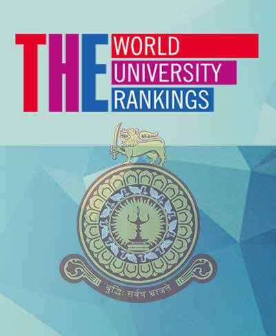 University of Colombo ranks in the THE Subject ranking 2021
