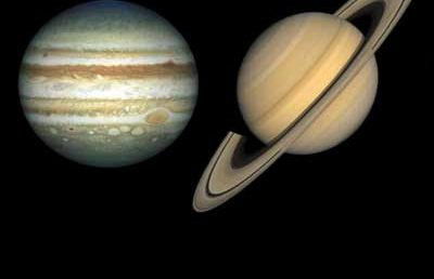 The 'Great Conjunction' of Jupiter and Saturn