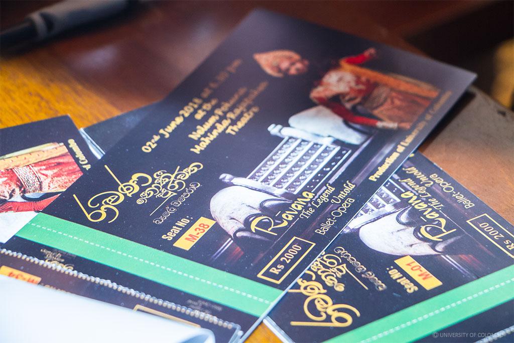 "Ticket Launching Ceremony ""Ravana The Legend Untold"""