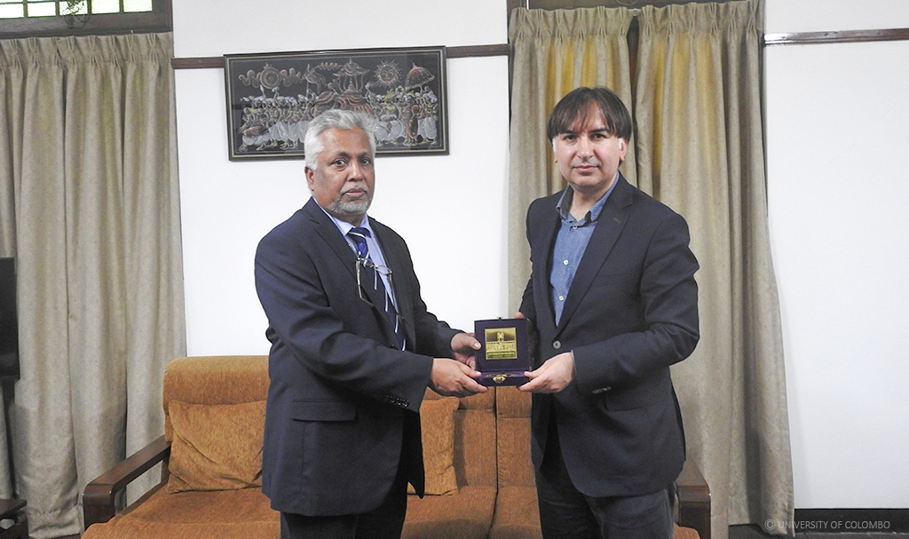 Delegation from Turkey visited University of Colombo