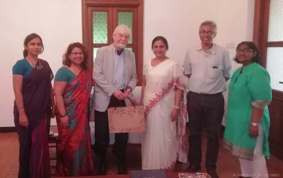 Visit from Uppsala University, Sweden