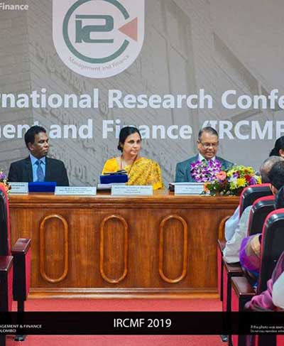 14th Annual International Research Conference on Management and Finance
