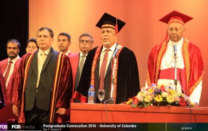 Postgraduate Convocation – 2016