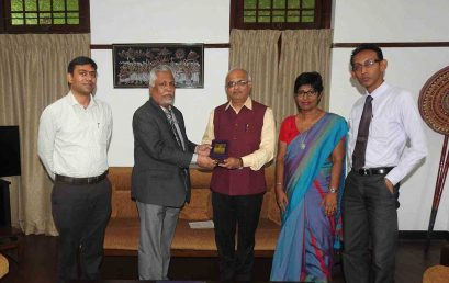 Dr. Vinay Sahasrabuddhe; National Vice President, BJP, India visited University of Colombo