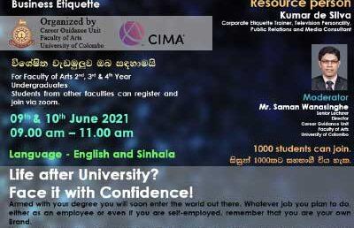 Virtual Workshop on Business Etiquette
