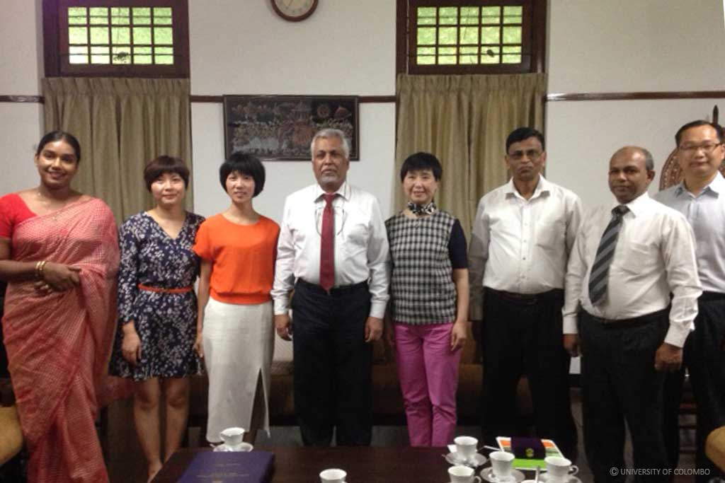 Visit from South China Normal University