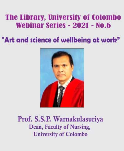 Webinar: Art and Science of wellbeing at work – The Library