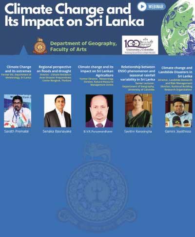 Webinar on Climate Change and its impact on Sri Lanka