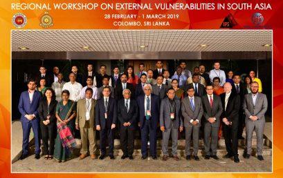 Regional Workshop on External Vulnerabilities in South Asia