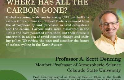 """Zoology and Environment Seminar  """"Where has all the carbon gone?"""""""